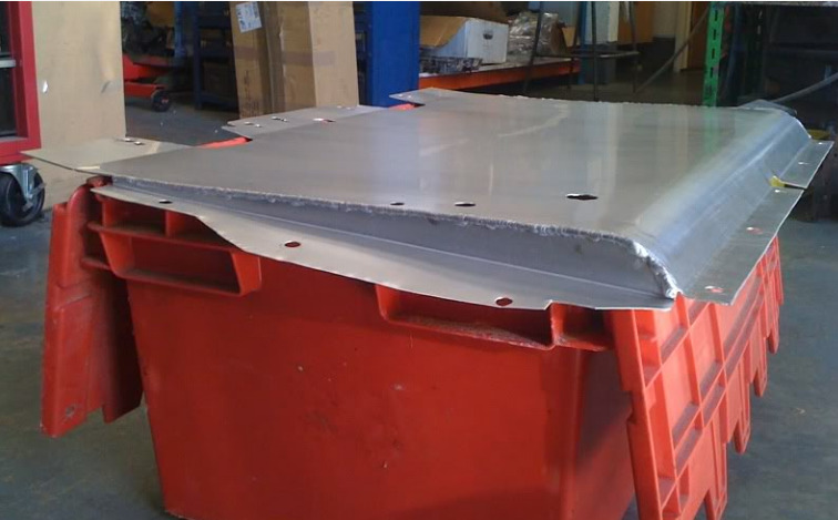 SRD Aluminium Undertray