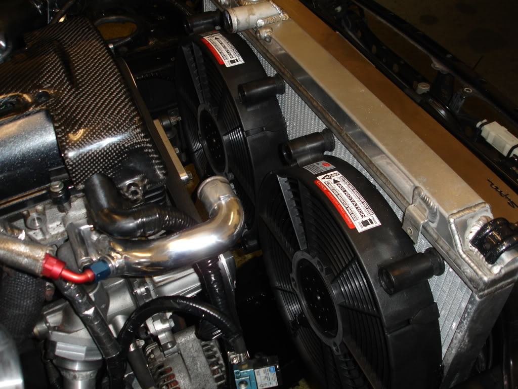Supra SRD 14″ Twin Fan Kit
