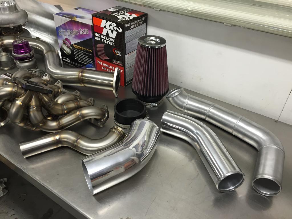 SRD Single Turbo Kit