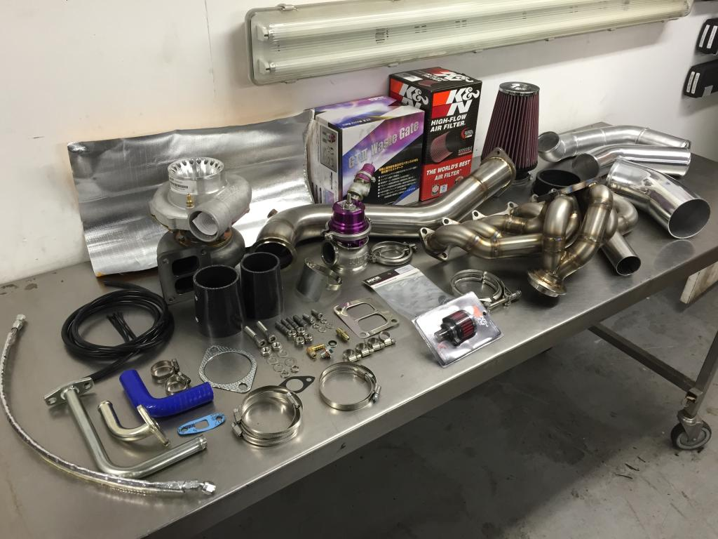 SRD Single Turbo Kit