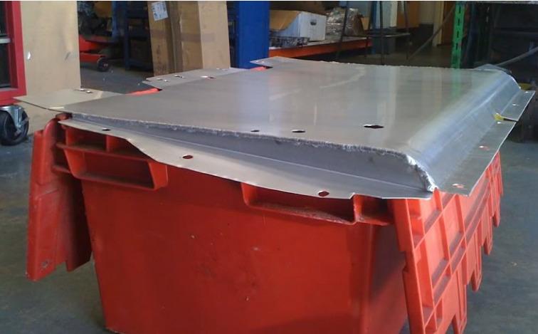 SRD Aluminium Undertray