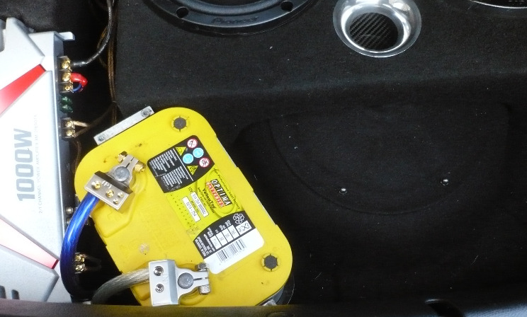 """SRD """"Battery to Boot"""" complete relocation kit"""