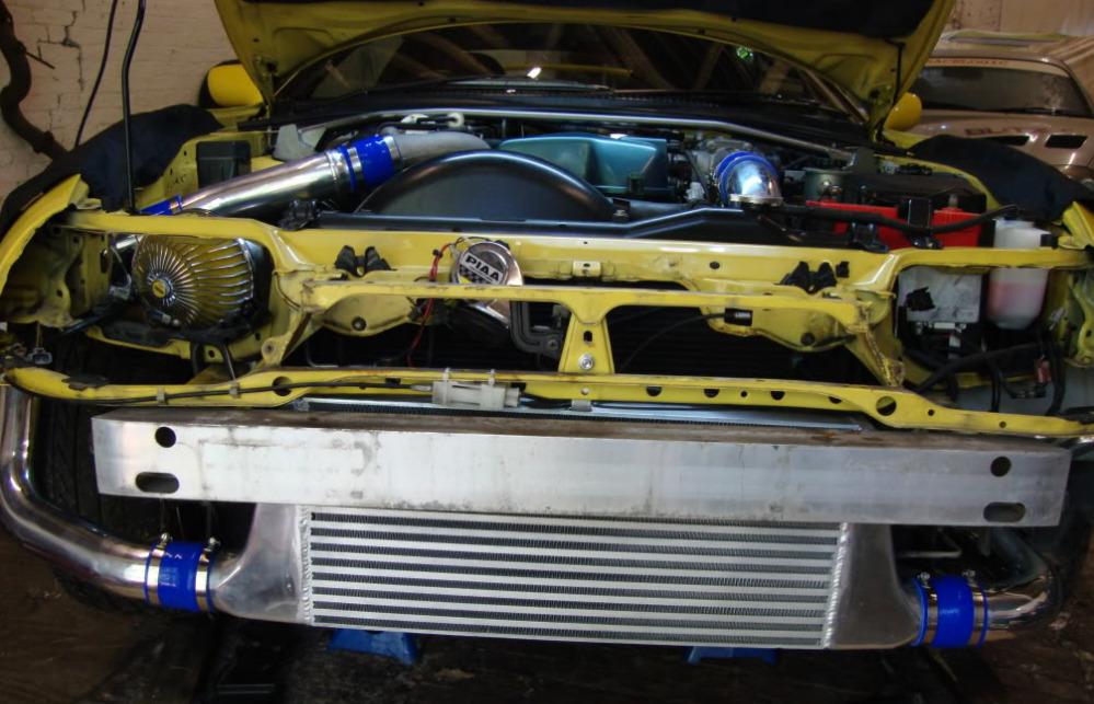 SRD Front Mount Intercooler Kit